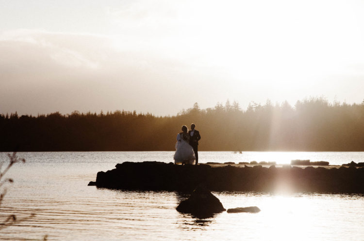 wedding photography at Harvey's Point, Donegal